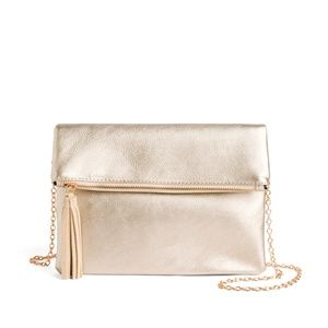 Faux Suede Clutch